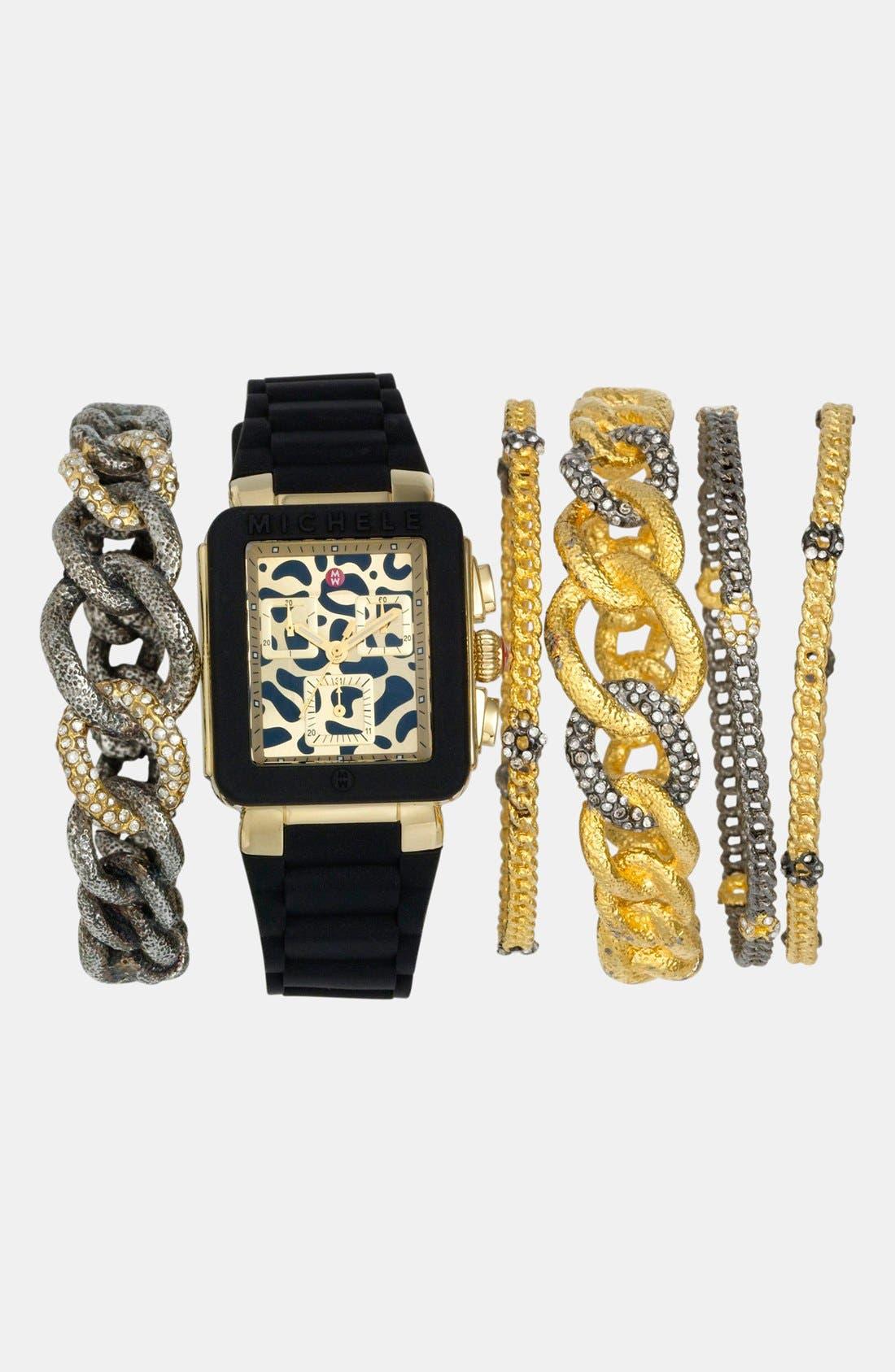 Alternate Image 7  - Alexis Bittar 'Elements - Jardin de Papillon' Hinged Chain Link Bracelet