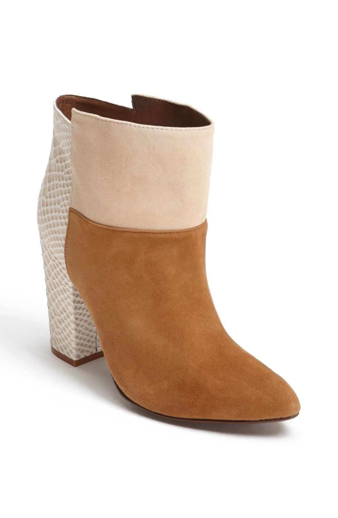 Alternate Image 1 Selected - Kristin Cavallari Suede Ankle Bootie