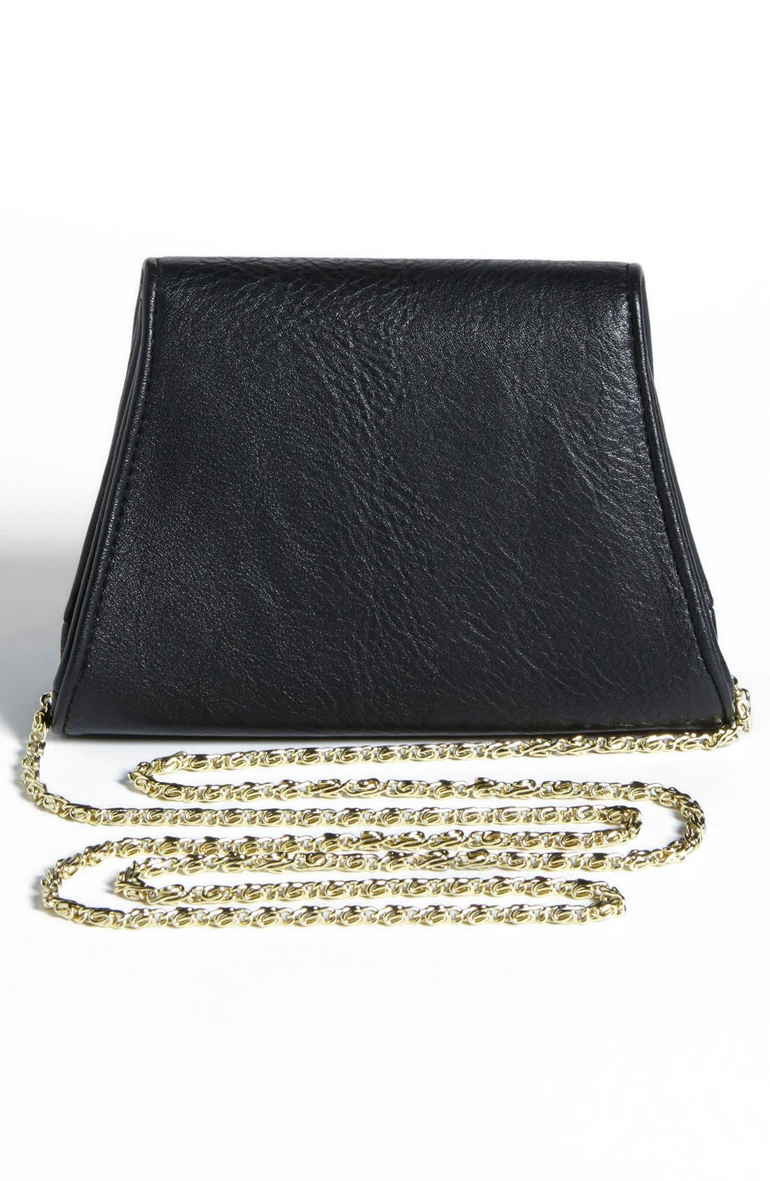 Alternate Image 4  - Lulu Bow Detail Mini Crossbody Bag (Juniors)