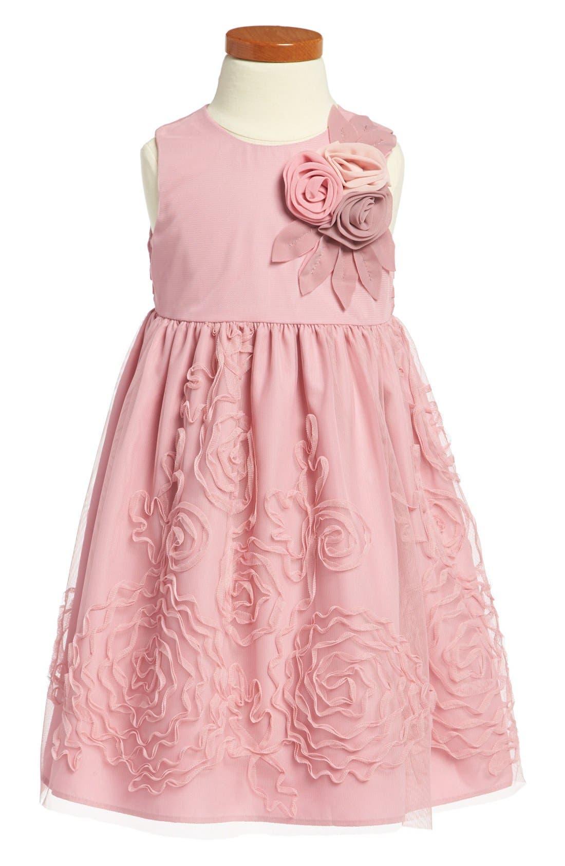 Main Image - Pippa & Julie Sleeveless Dress (Toddler Girls)