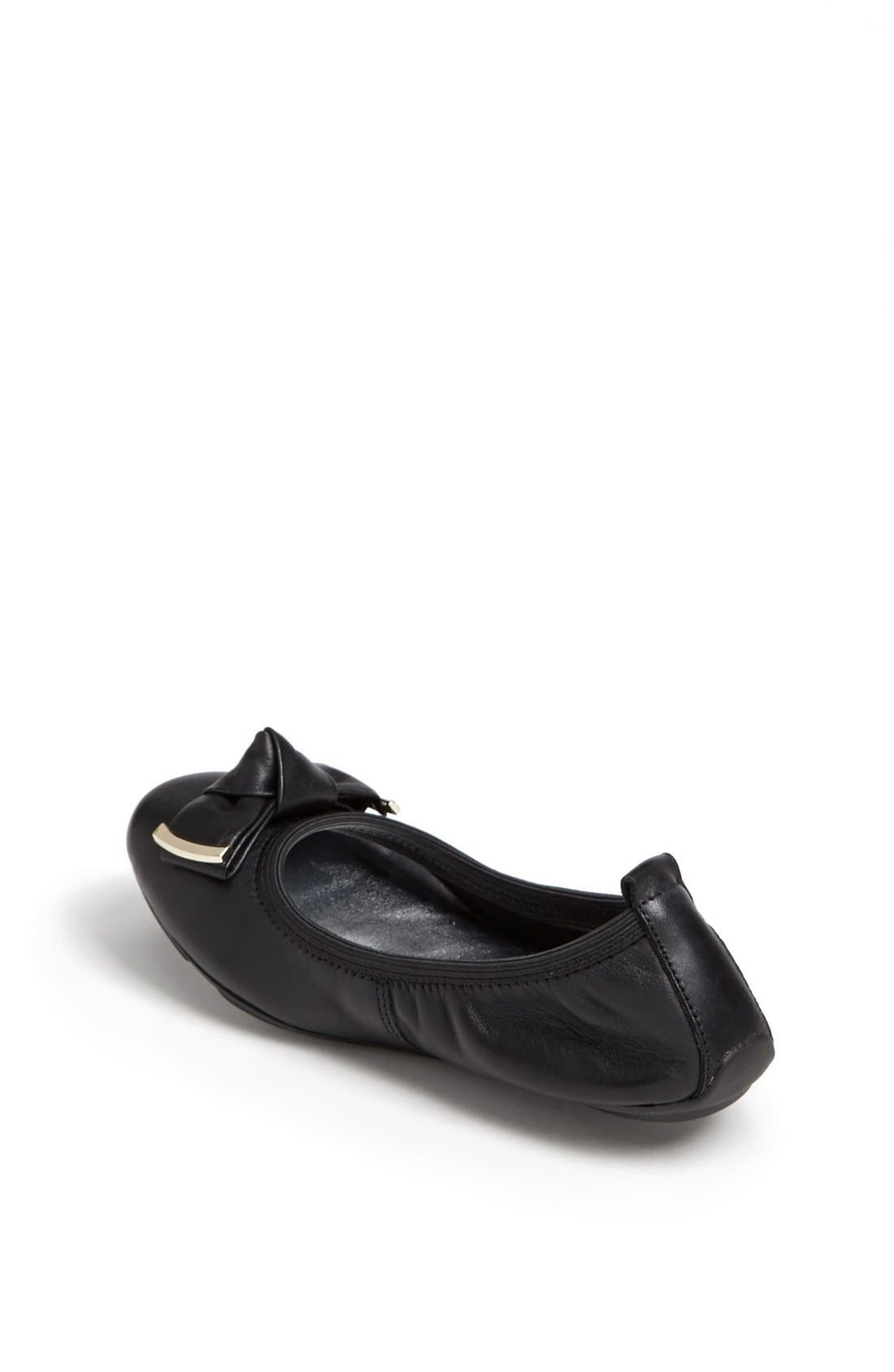 Alternate Image 2  - Cole Haan 'Pretty 2' Ballerina Flat (Little Kid & Big Kid)