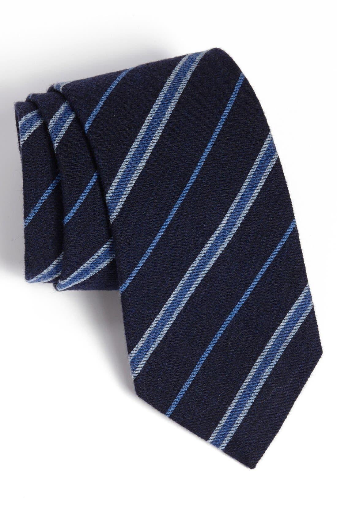 Main Image - John W. Nordstrom® Woven Wool Tie