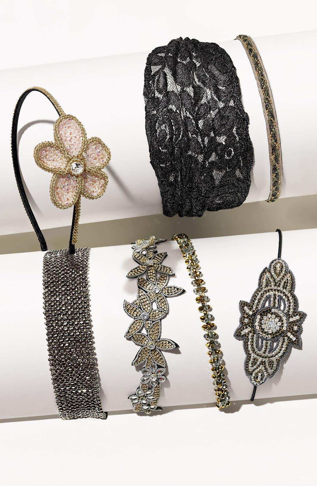 Alternate Image 2  - Cara 'Soft & Sweet' Flower Headband