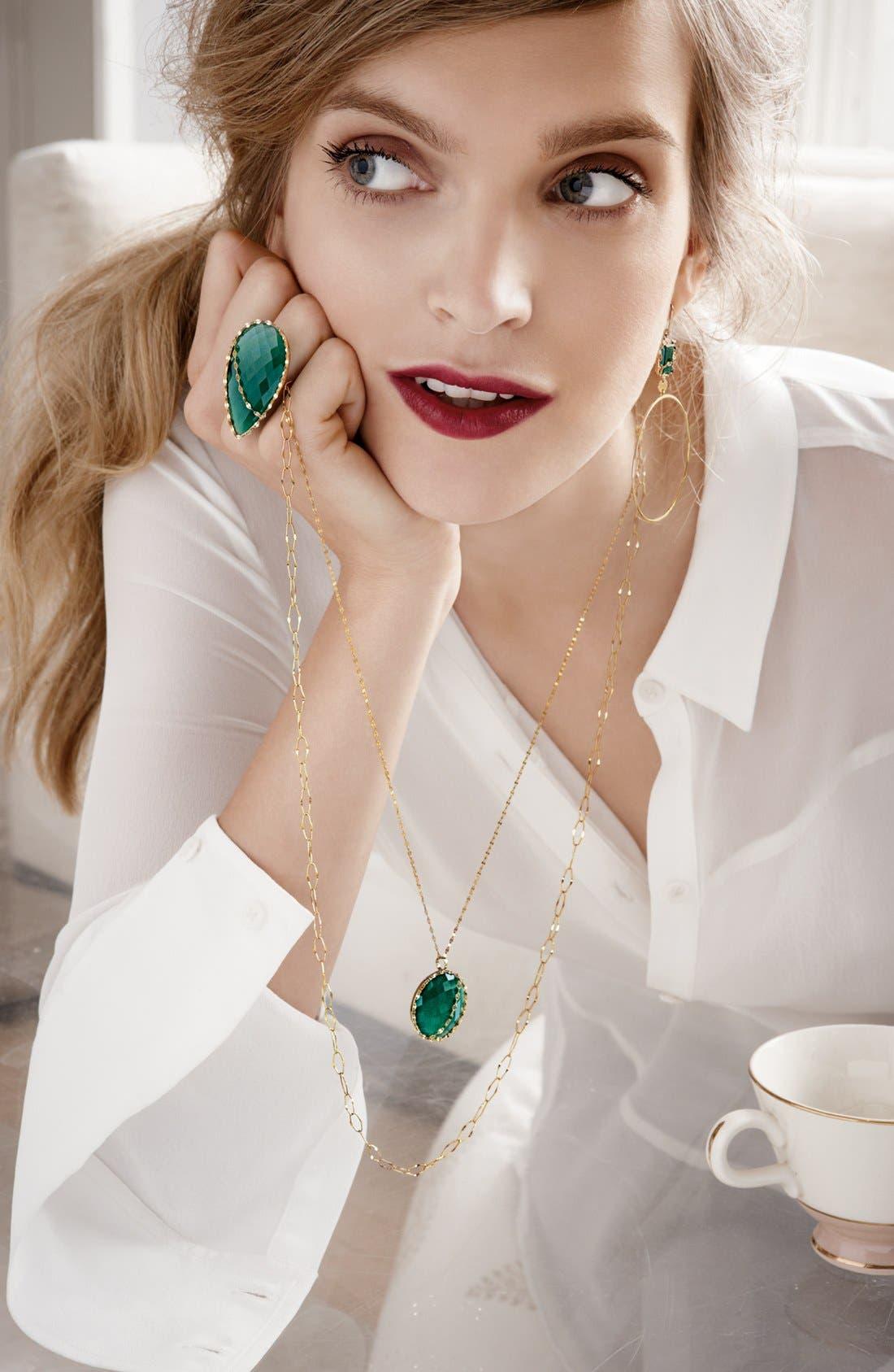 Alternate Image 3  - Lana Jewelry 'Spellbound - Small Glow' Dangle Hoop Earrings (Nordstrom Exclusive)