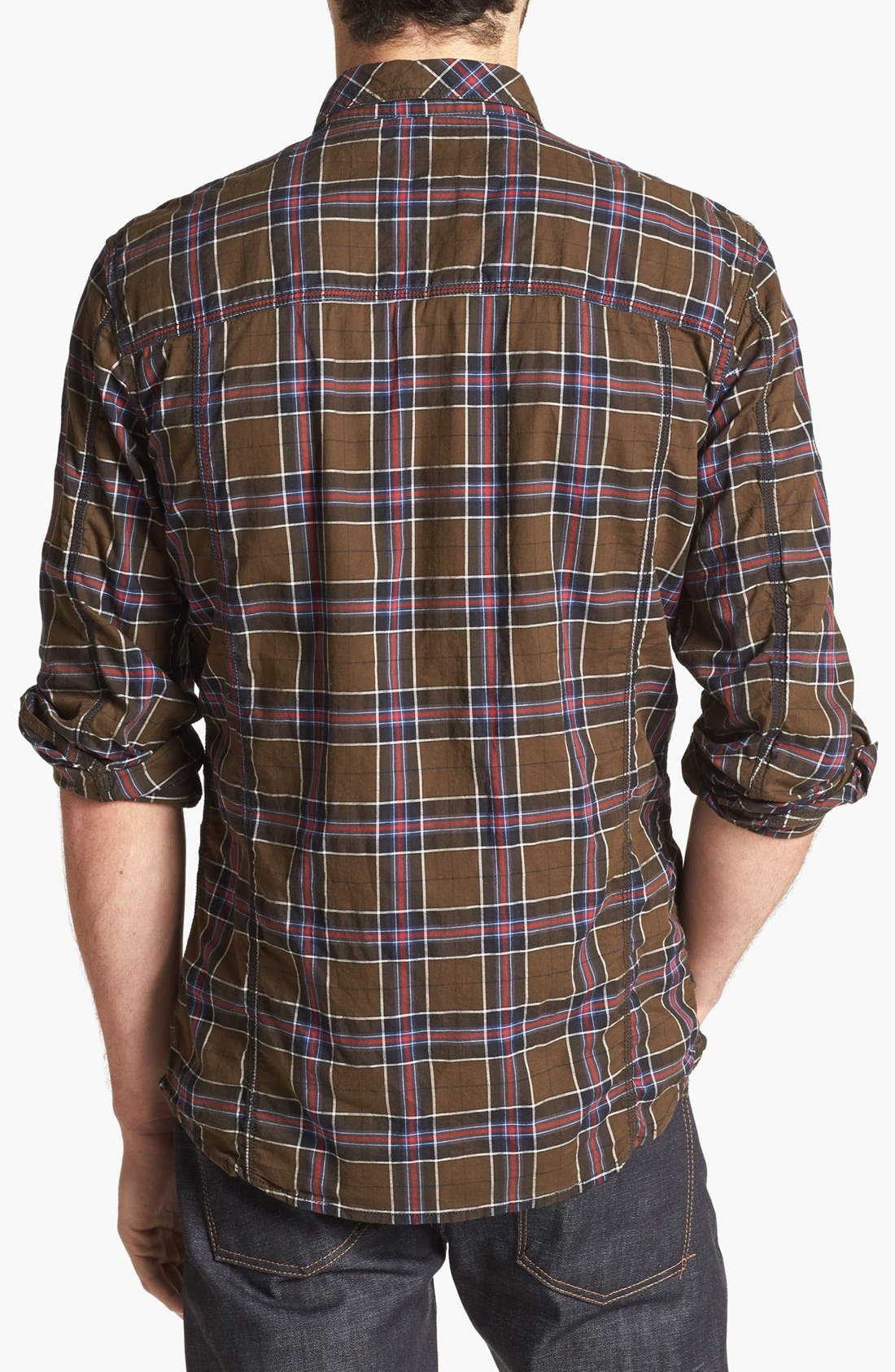 Alternate Image 2  - DIESEL® 'Stulipa' Plaid Shirt