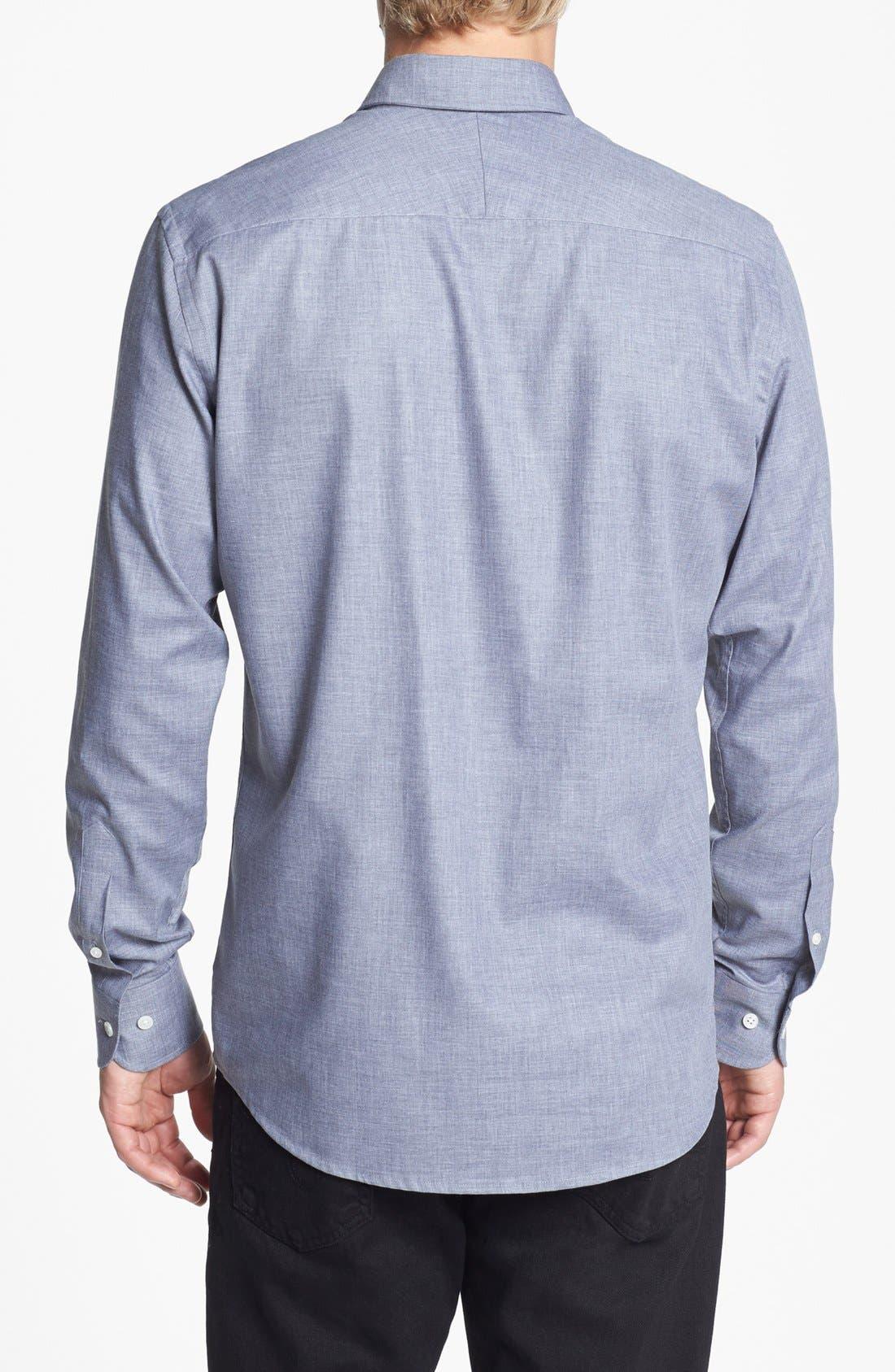 Alternate Image 2  - Kent and Curwen 'Hunter' Tailored Fit Sport Shirt