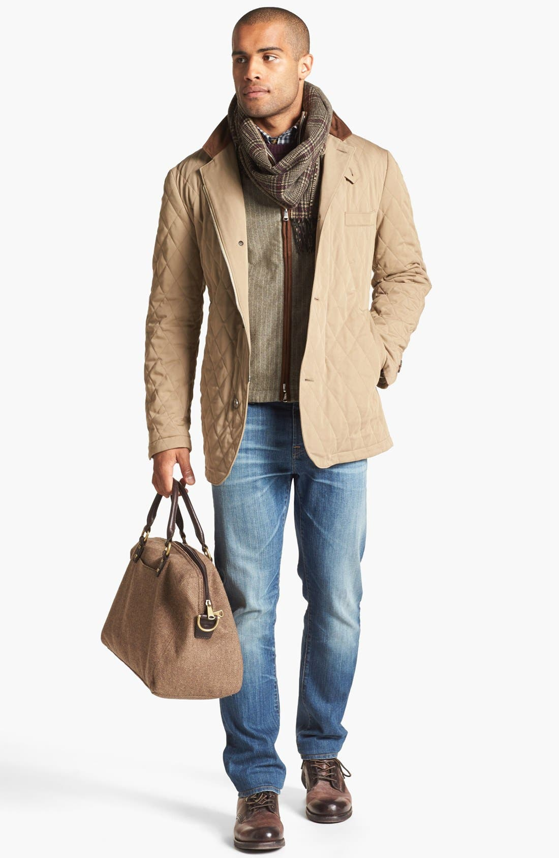Alternate Image 5  - AG 'Graduate' Tailored Fit Straight Leg Jeans (13 Year Origin)