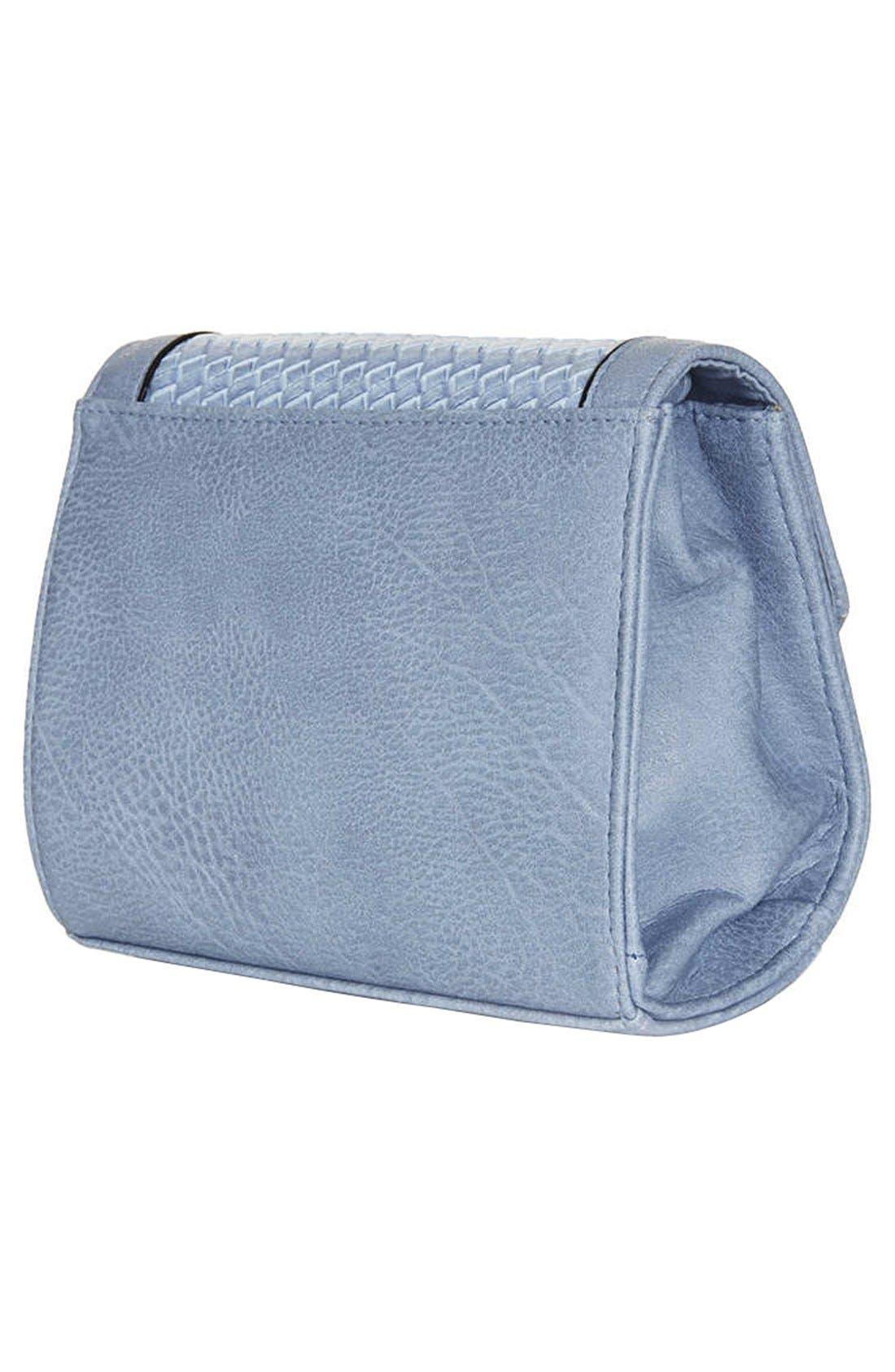 Alternate Image 4  - Topshop Embossed Mini Crossbody Bag