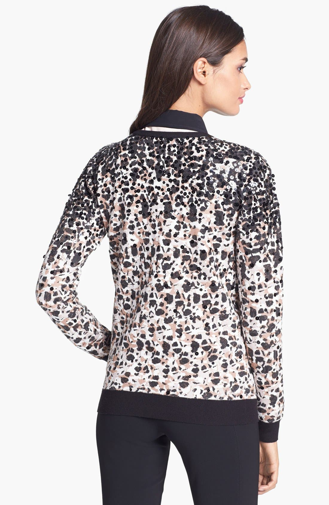 Alternate Image 2  - MARC BY MARC JACOBS 'Isa' Sequin Crewneck Sweater
