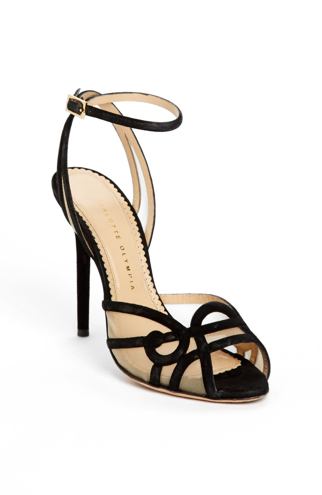 Alternate Image 1 Selected - Charlotte Olympia 'Sugar' High Strap Sandal
