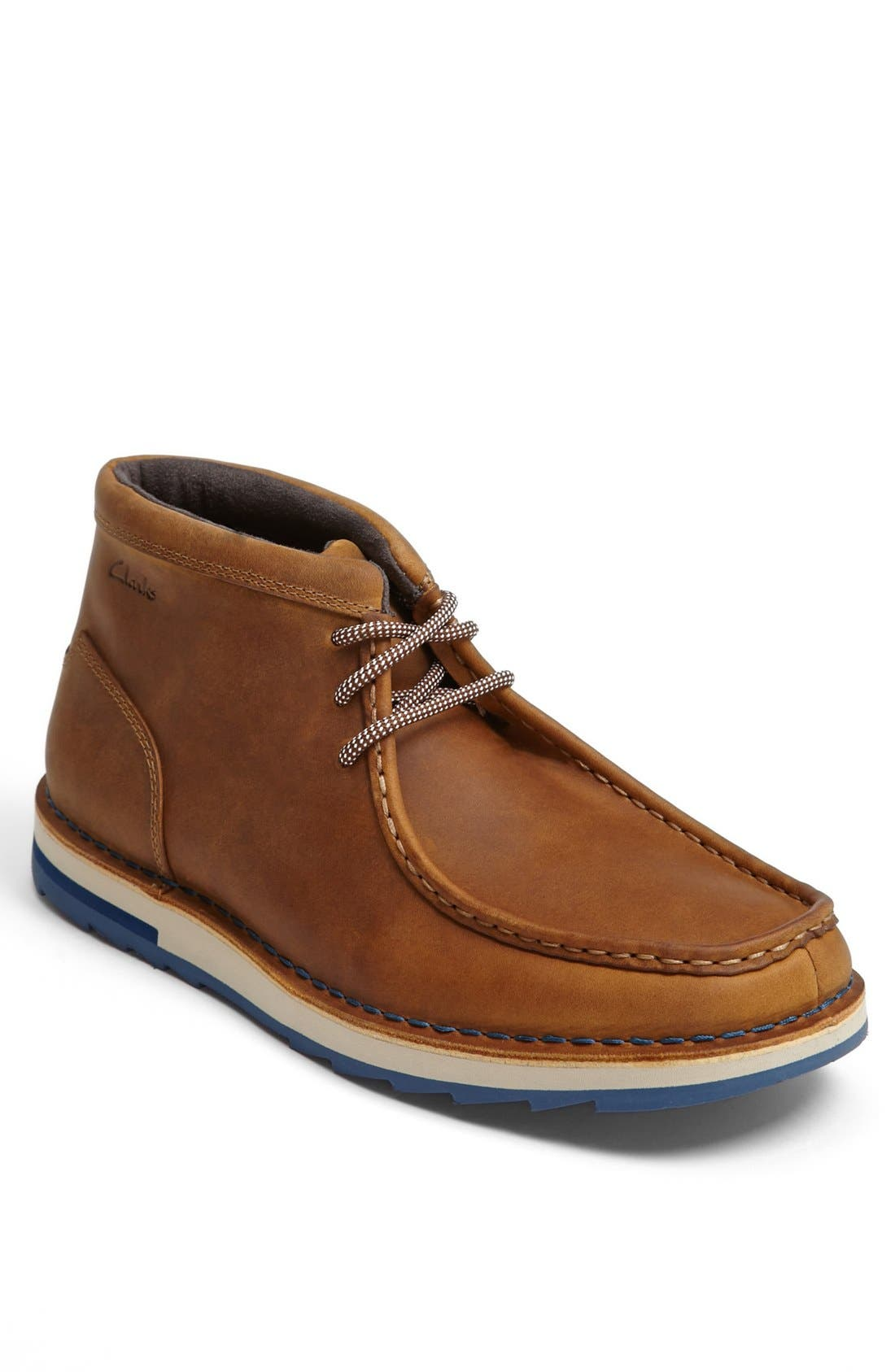 Alternate Image 1 Selected - Clarks® 'Folk' Moc Toe Chukka Boot