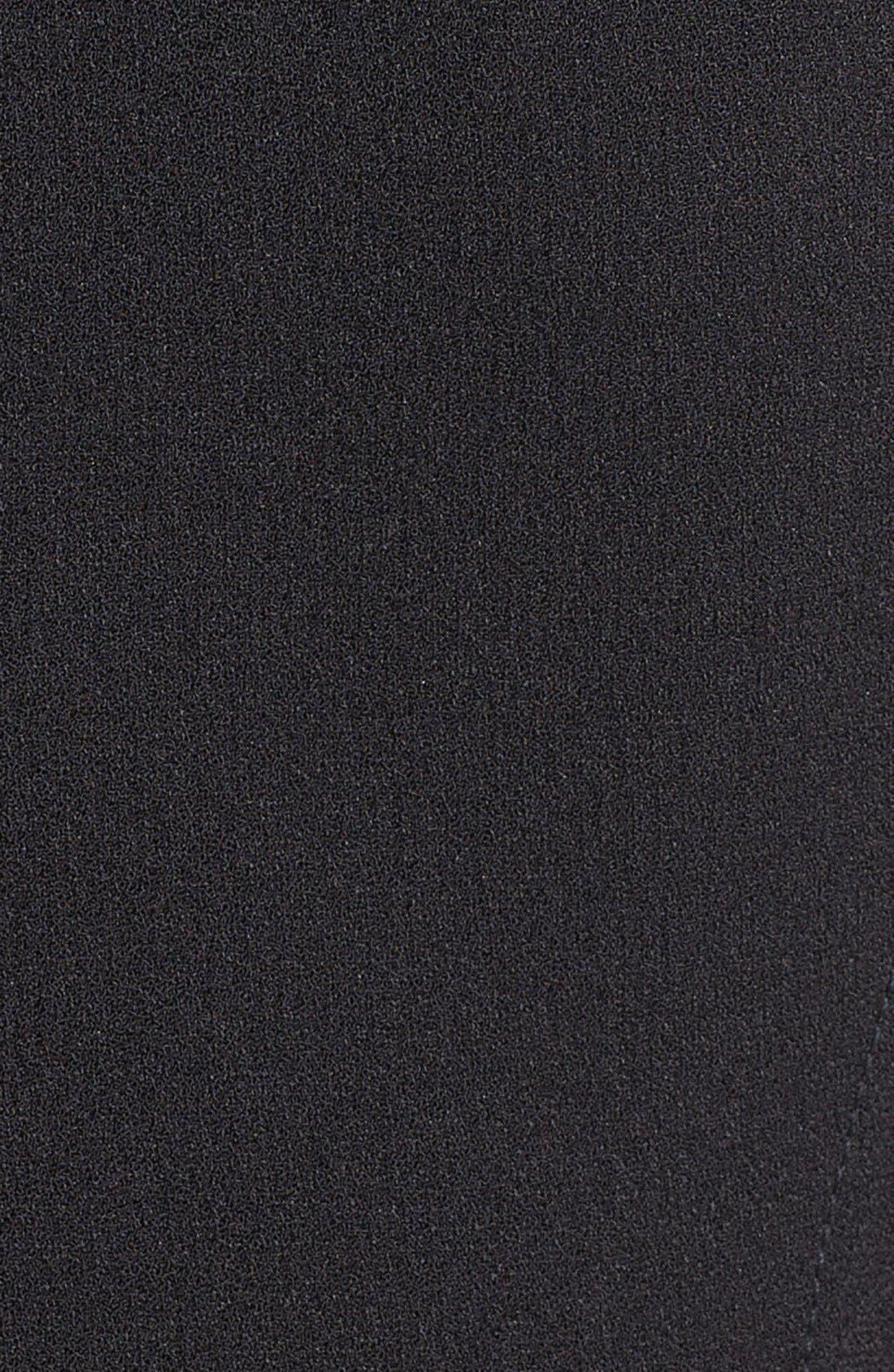 Alternate Image 3  - Ivy & Blu Illusion Yoke Peplum Sheath Dress