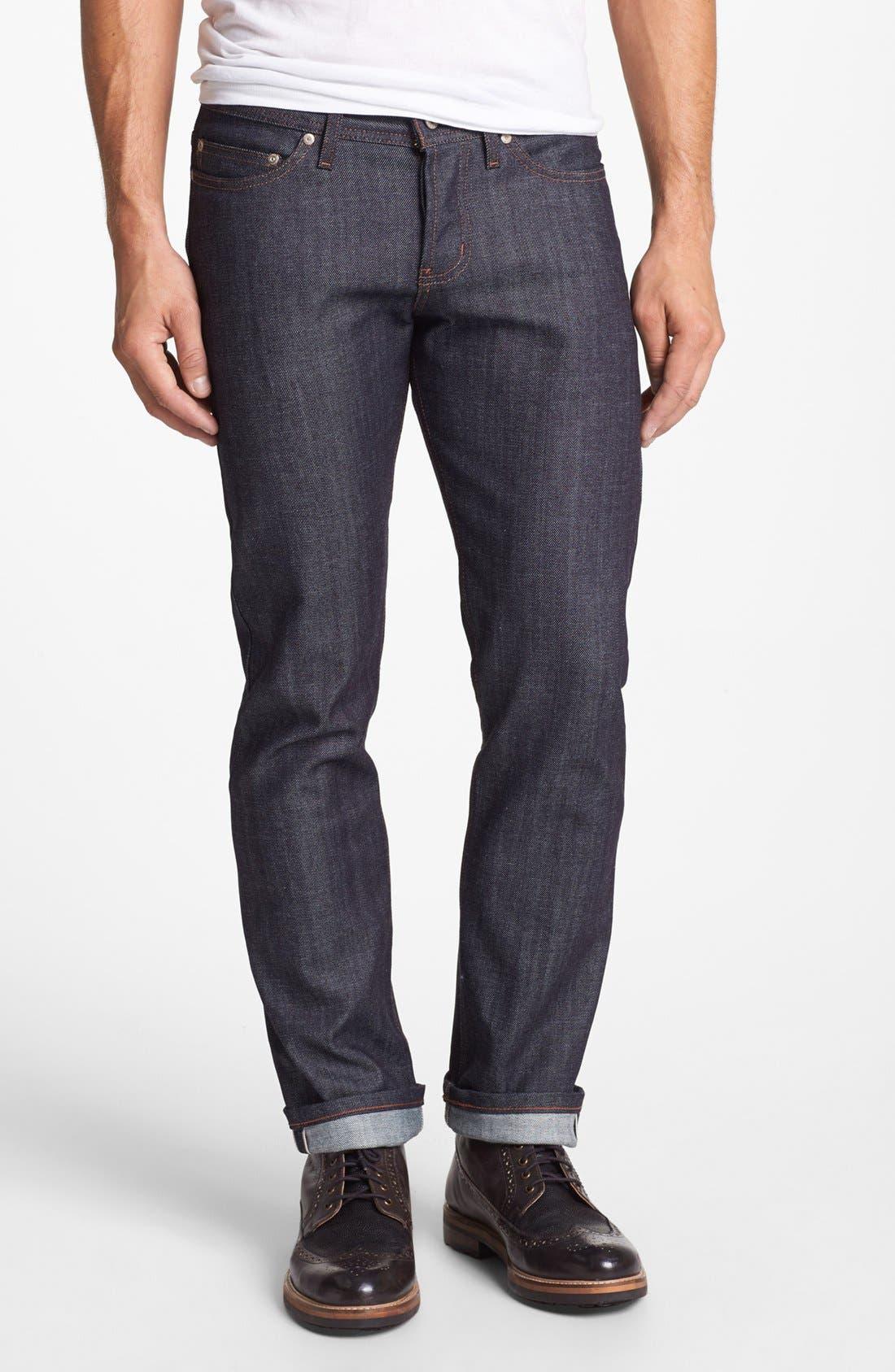 Dark denim slim fit jeans