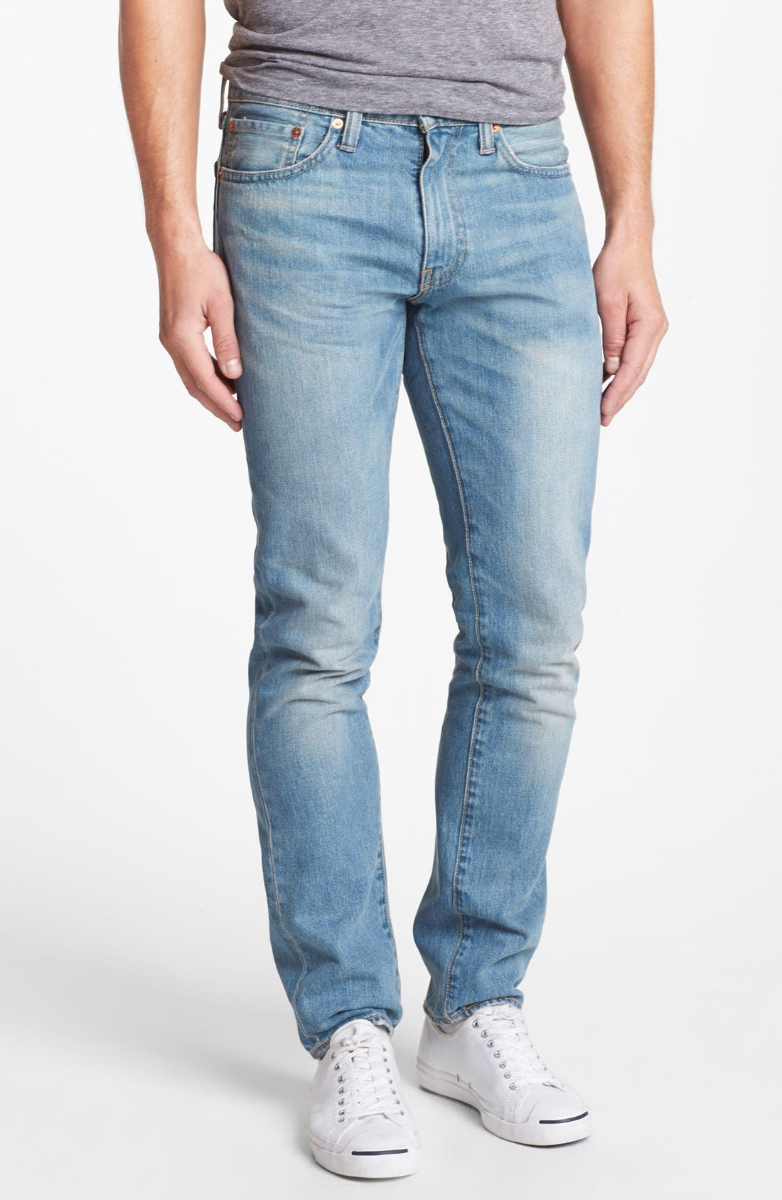 Alternate Image 2  - Levi's® '511' Skinny Jeans (Whiskey)