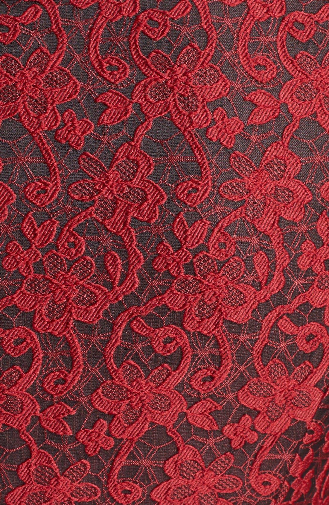 Alternate Image 3  - 4.collective Lace Appliqué Sheath Dress