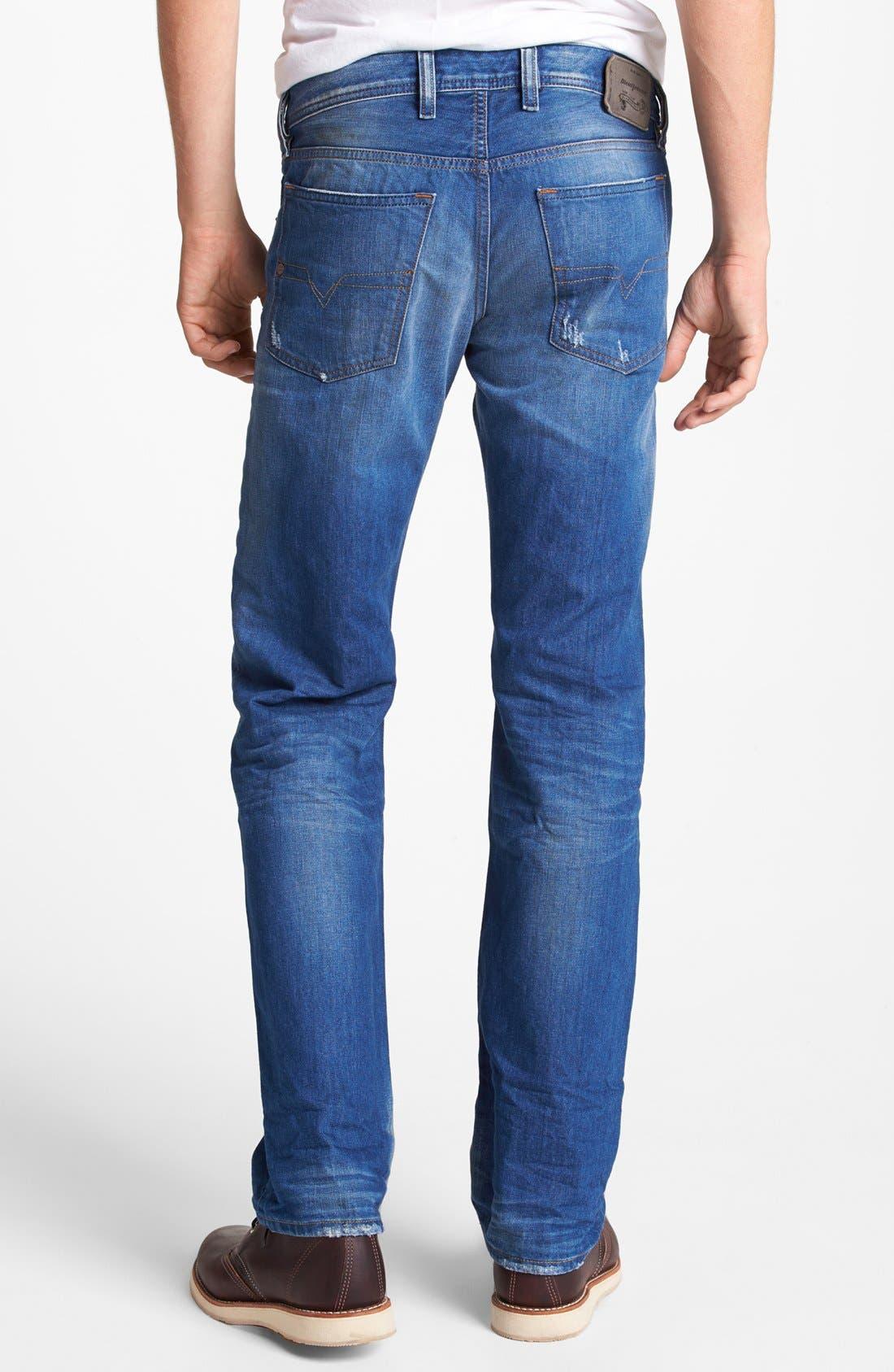 Alternate Image 2  - DIESEL® 'Waykee' Straight Leg Jeans (0823U)