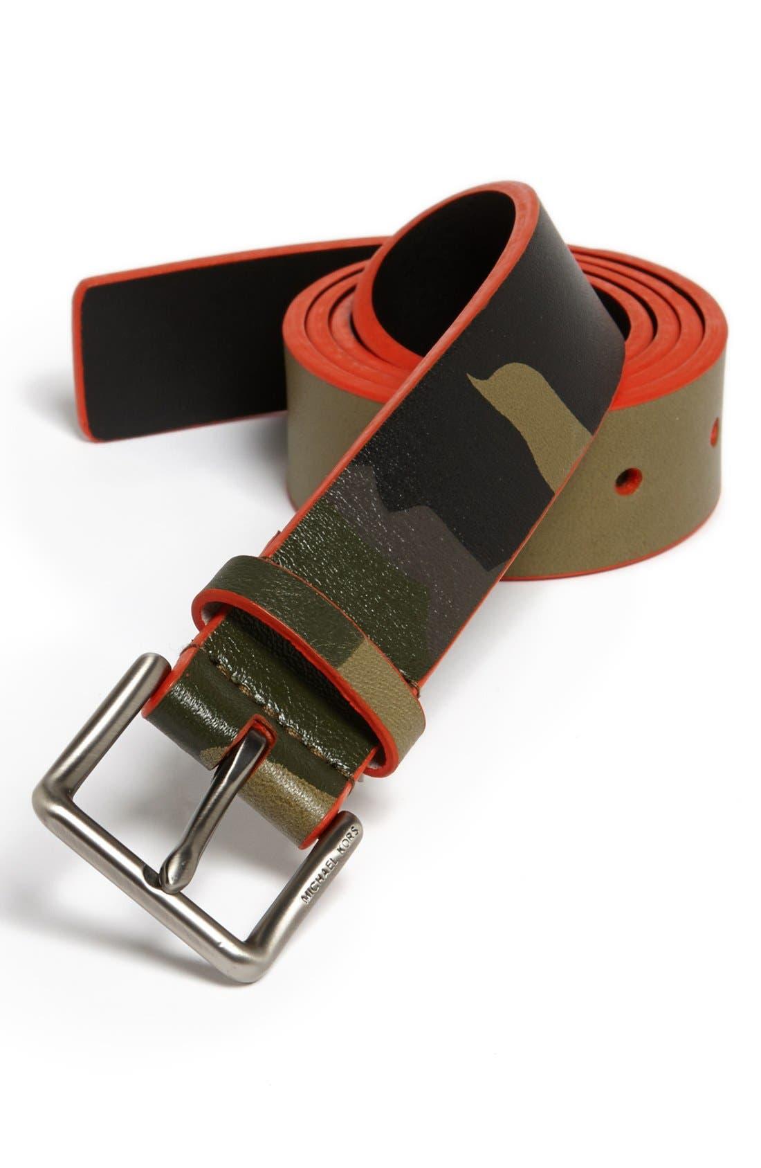 Main Image - MICHAEL Michael Kors Camo Belt