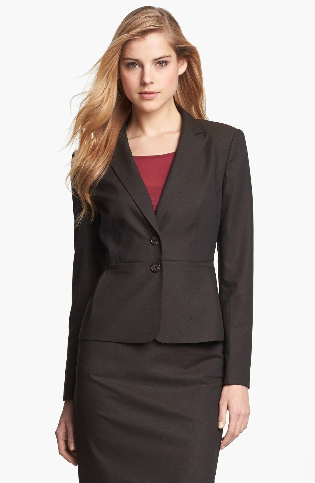 Alternate Image 1 Selected - Halogen® Suit Jacket (Petite)
