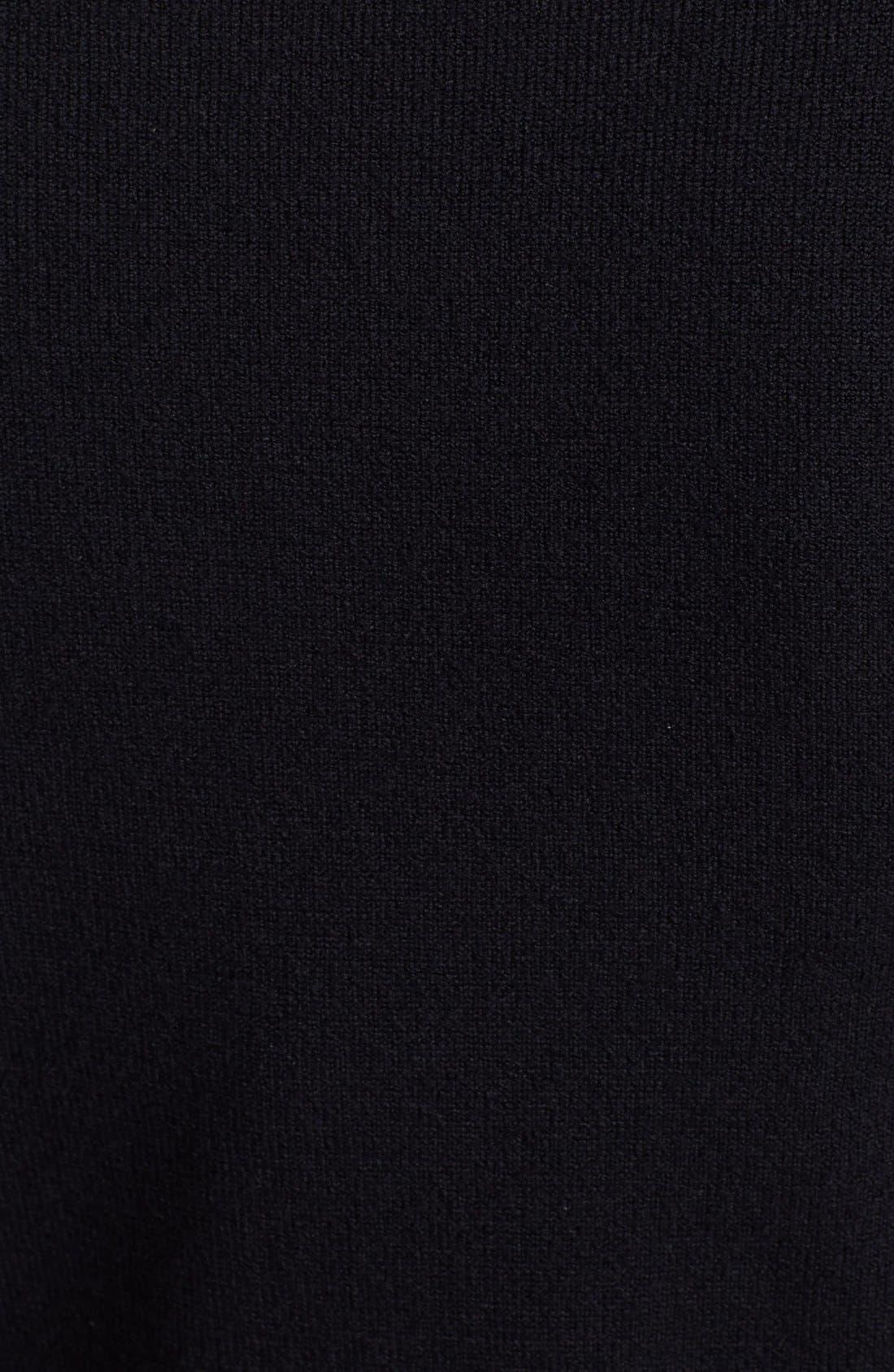 Alternate Image 3  - Alice + Olivia 'Wiley' Contrast Trim Sweater