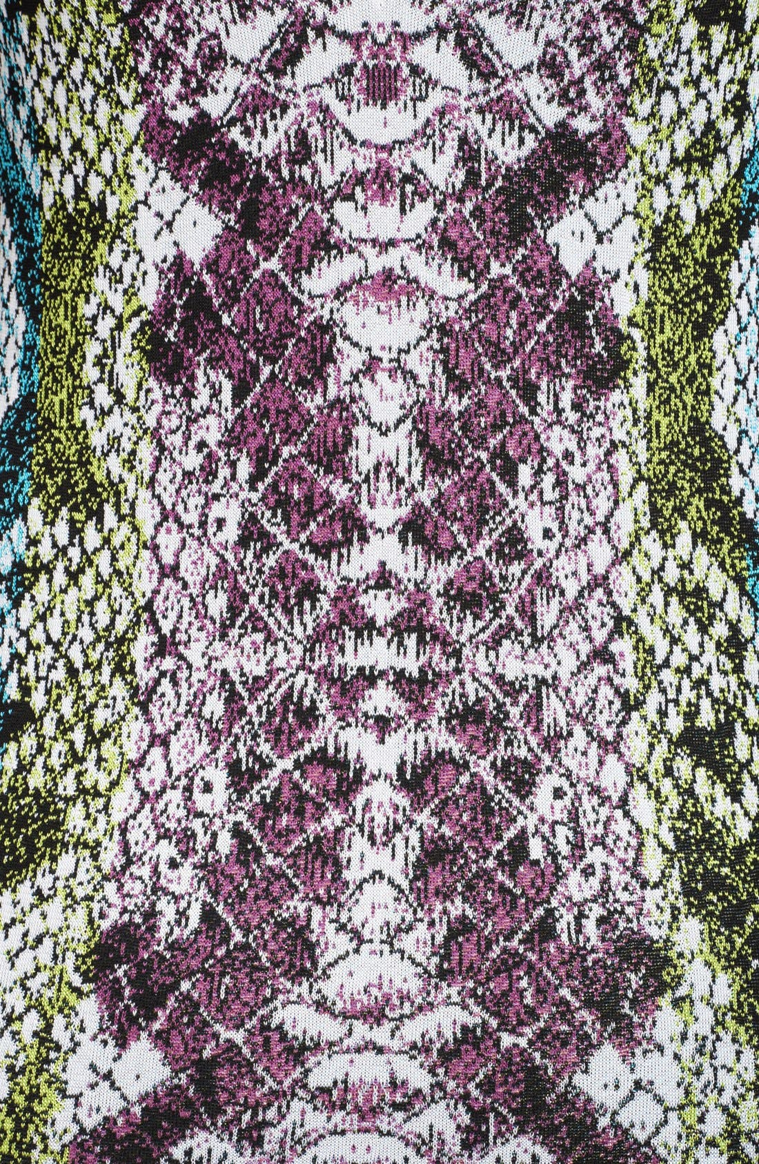 Alternate Image 3  - Roberto Cavalli Snake Jacquard Flounce Hem Dress