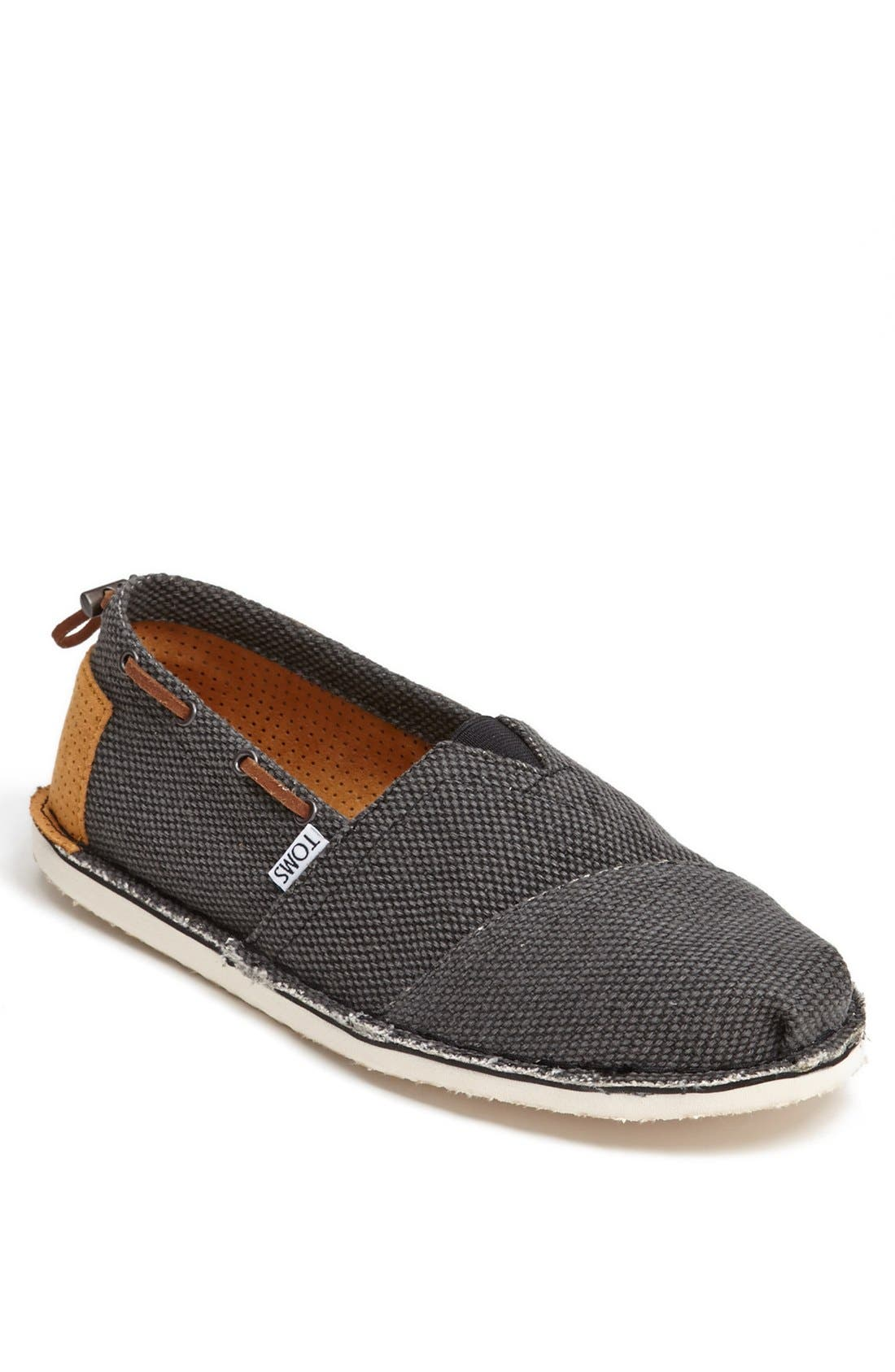 Alternate Image 1 Selected - TOMS 'Bimini - Stitchout' Slip-On (Men)