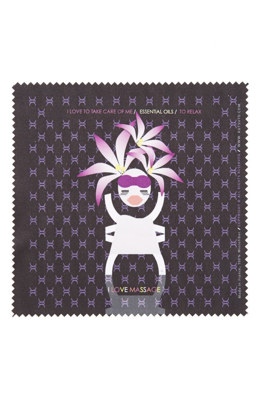 Alternate Image 1 Selected - KUTSUTO 'Kutsinette - I Love Being A Femme Fatale' Microfiber Cloth