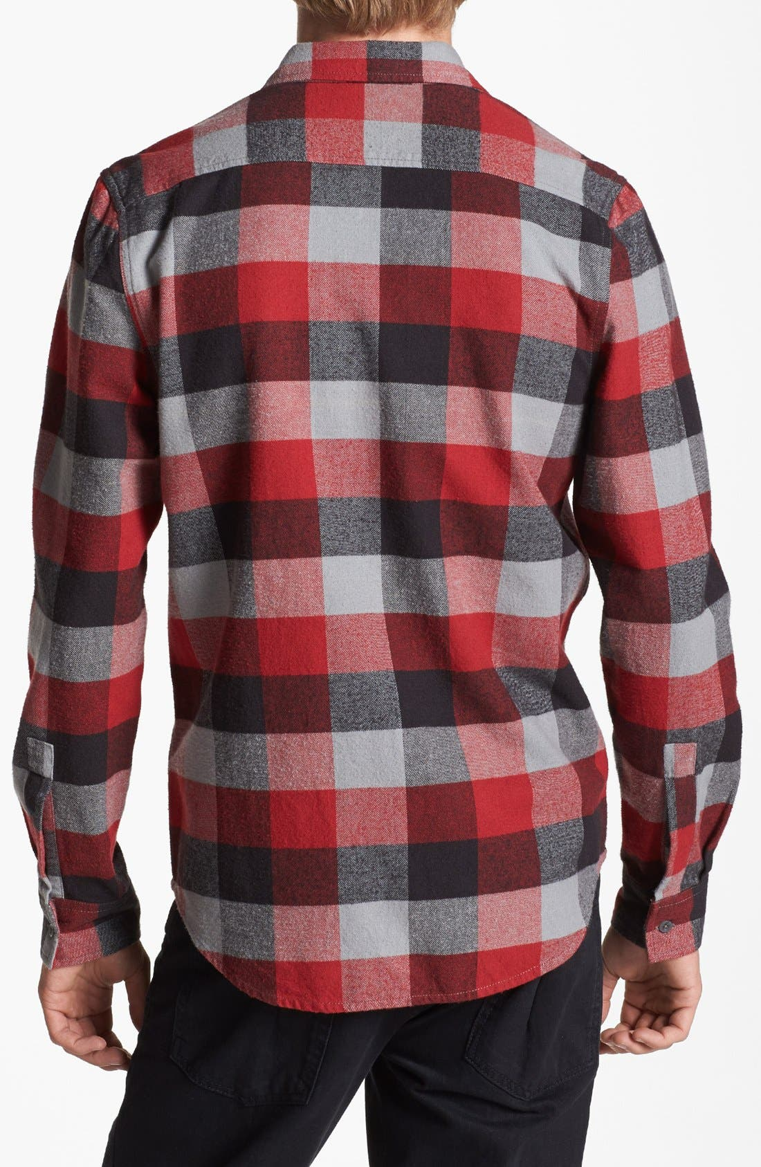 Alternate Image 2  - Topman Buffalo Check Shirt