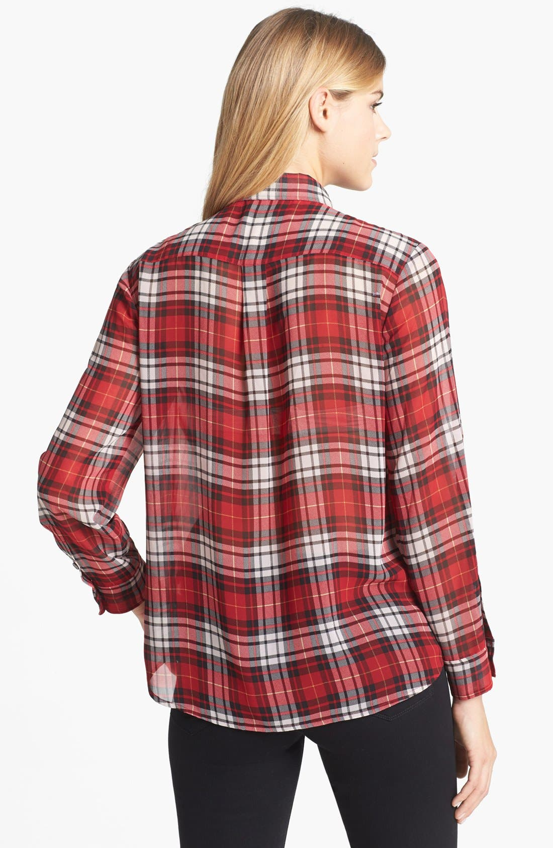 Alternate Image 2  - Two by Vince Camuto Plaid Boy Shirt