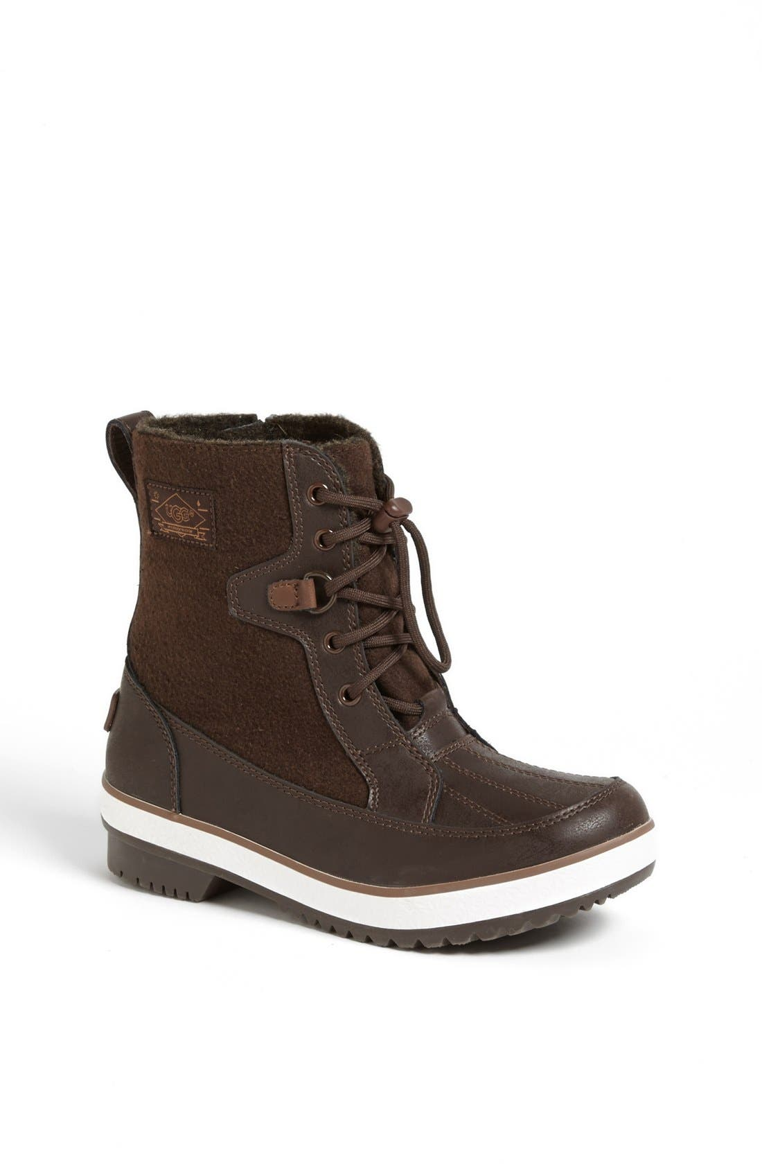 Alternate Image 1 Selected - UGG® Australia 'Cabiro' Waterproof Boot (Little Kid & Big Kid)