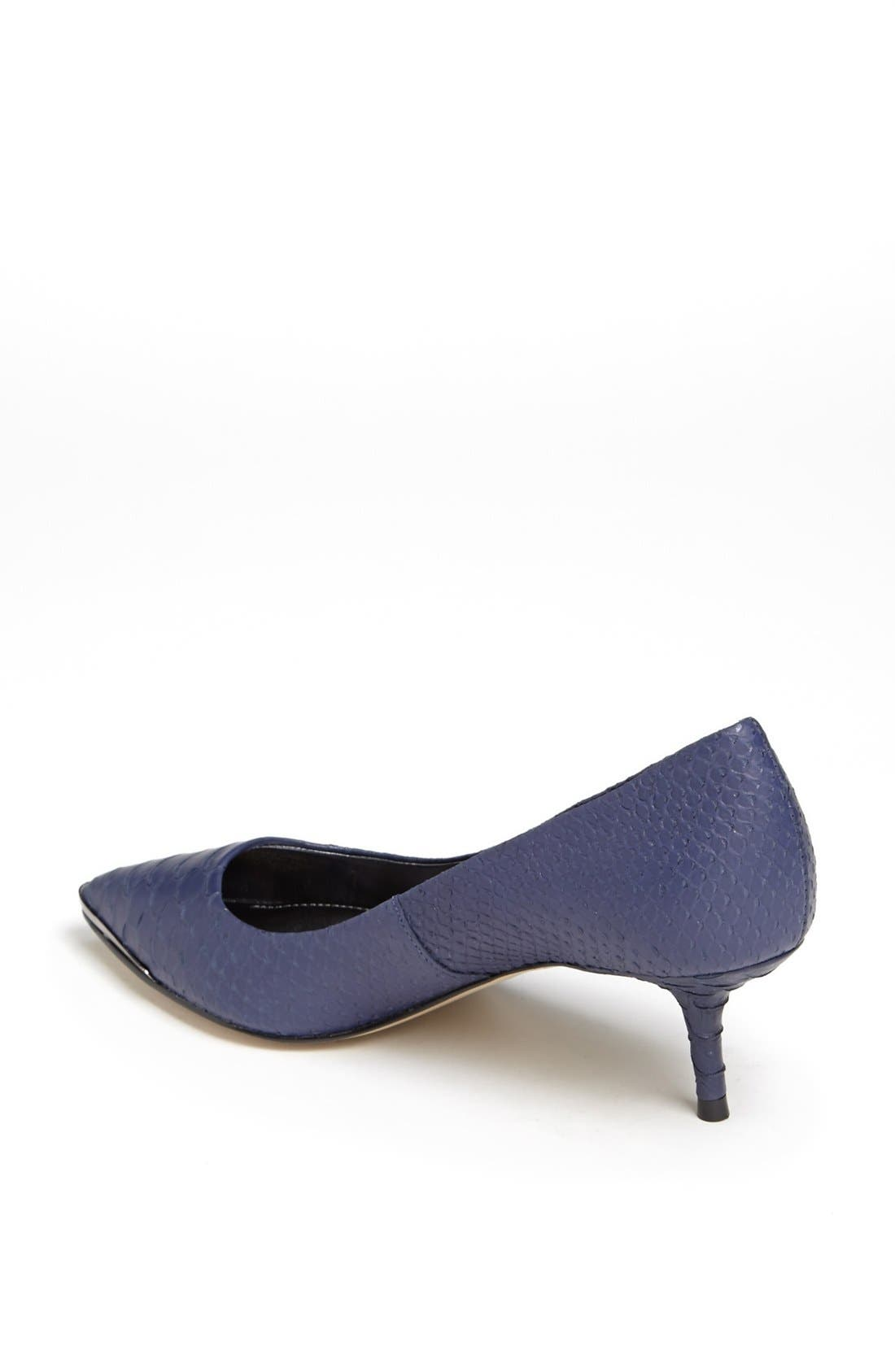 Alternate Image 2  - Enzo Angiolini 'Graysn' Embossed Leather Pump