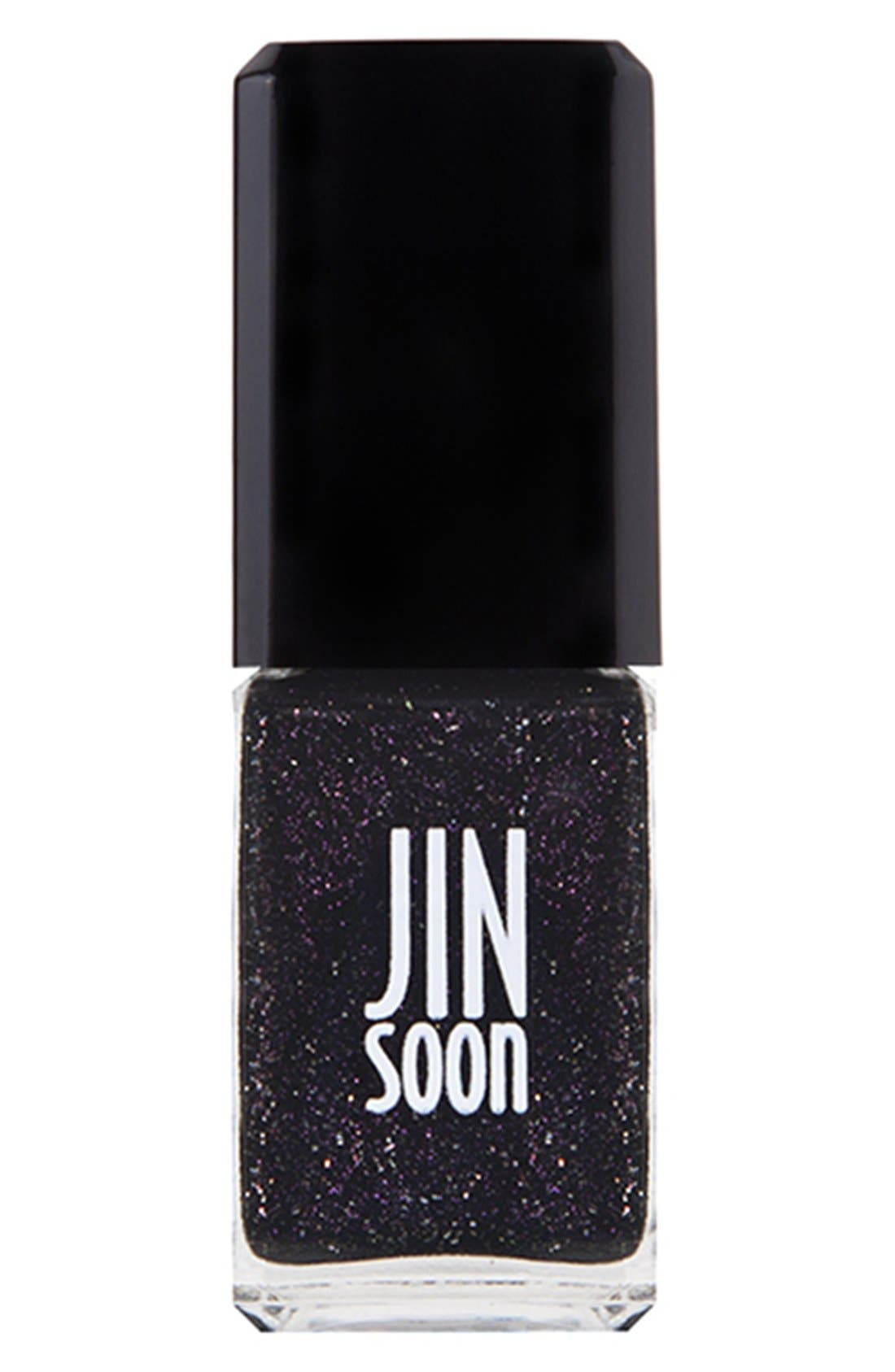 JINsoon 'Obsidian' Nail Lacquer