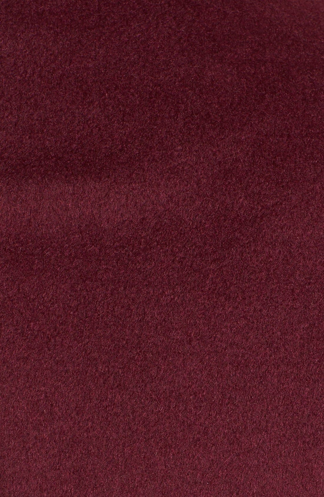Alternate Image 3  - T Tahari 'Kendra' Ruffle Front Walking Coat