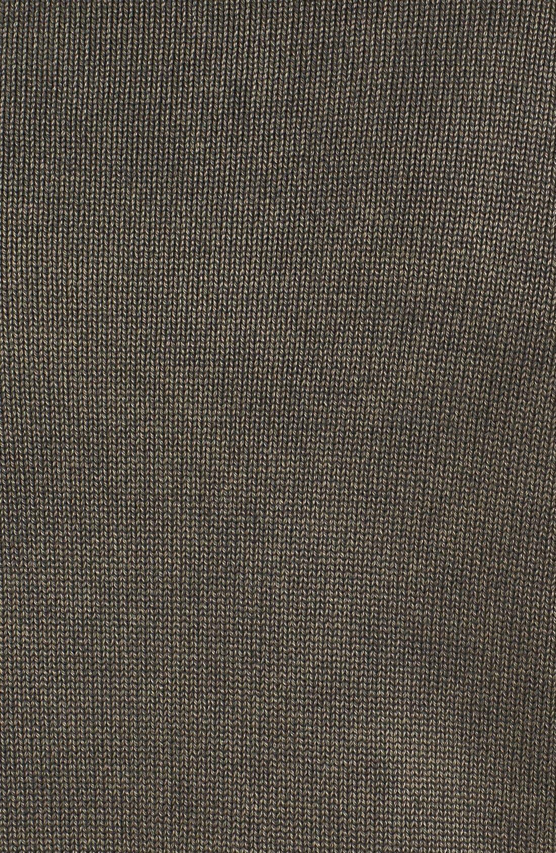 Alternate Image 3  - Vince Camuto Slim Fit Half Zip Sweater