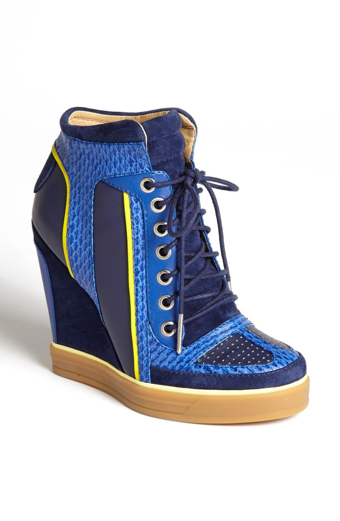 Alternate Image 1 Selected - L.A.M.B. 'Summer'  High Top Wedge Sneaker