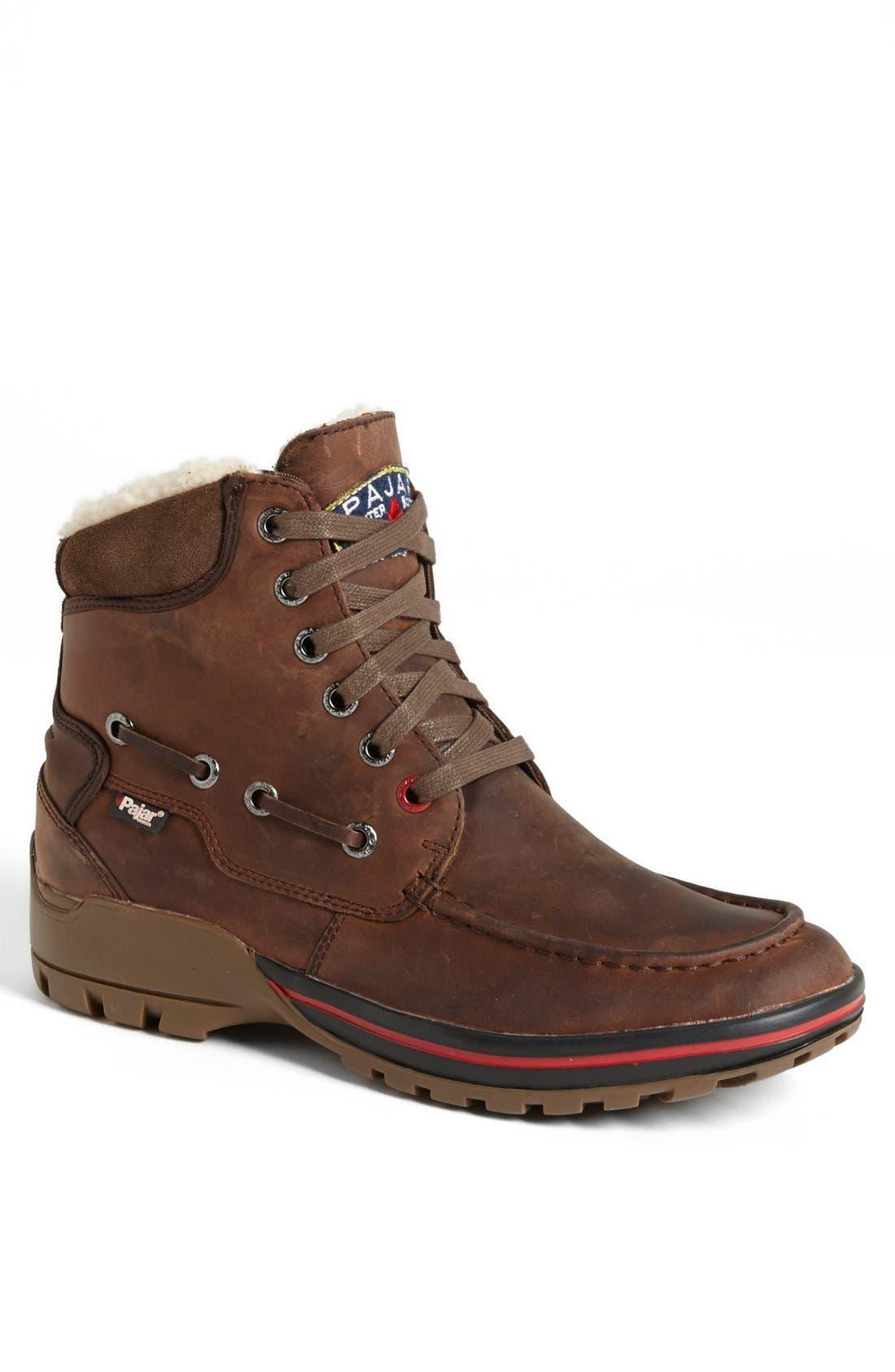 'Basel' Snow Boot,                             Main thumbnail 1, color,                             Brown