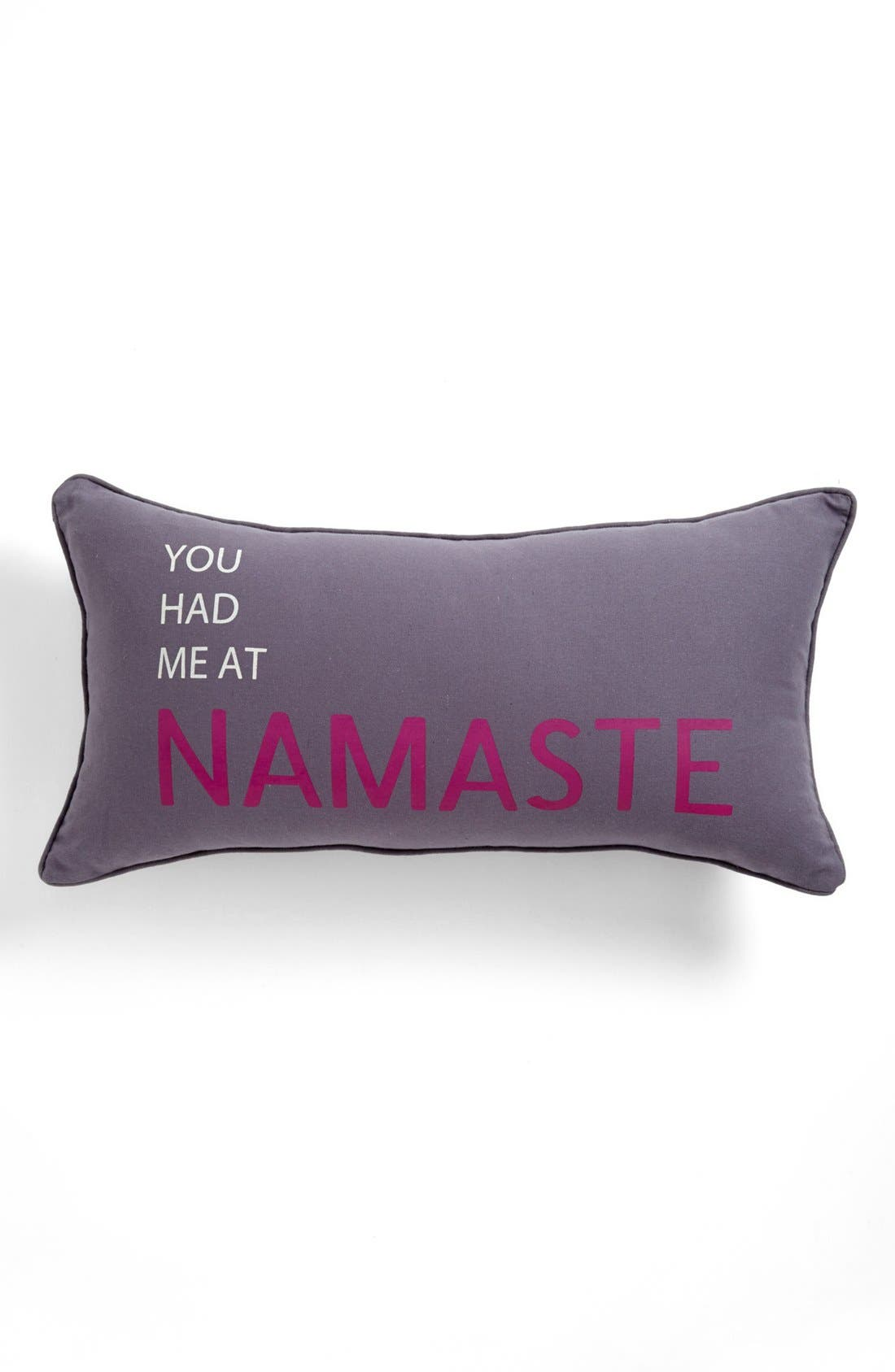 Alternate Image 1 Selected - Levtex 'You Had Me at Namaste' Pillow