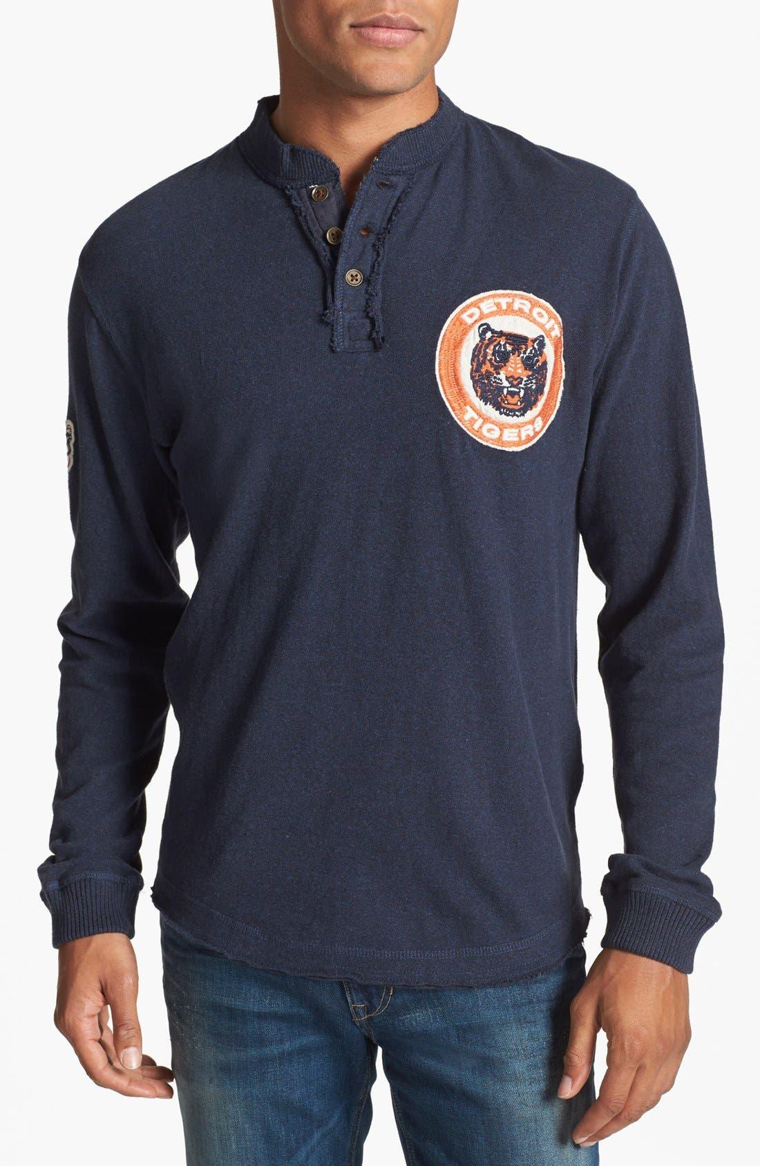 Main Image - Red Jacket 'Detroit Tigers - Ten Grand' Henley
