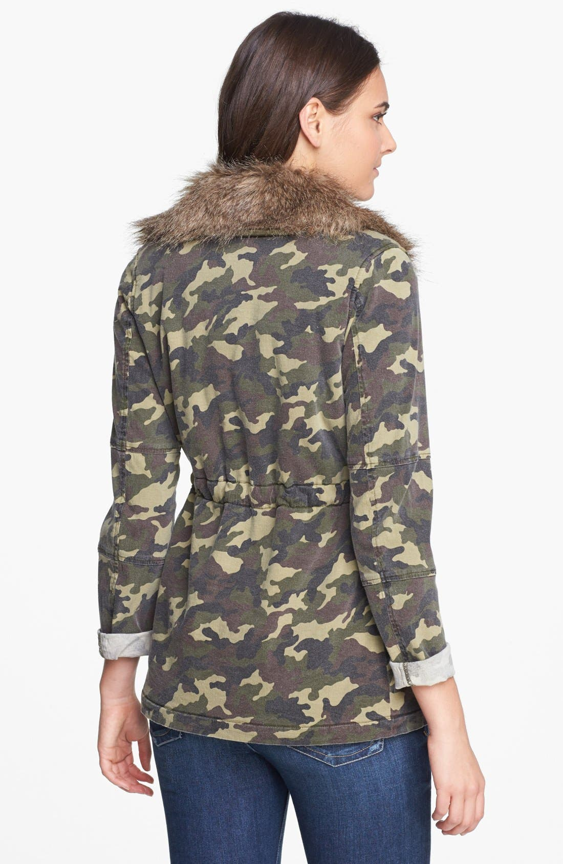 Alternate Image 2  - KUT from the Kloth 'Nolan' Camo Print Jacket