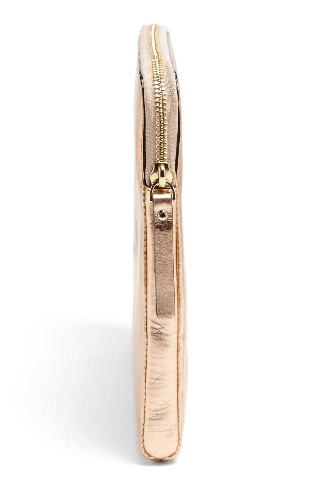 'be dazzling' iPad sleeve,                             Alternate thumbnail 2, color,                             Rose Gold