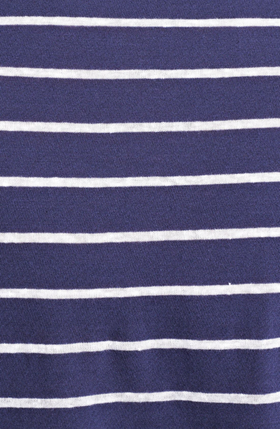 Alternate Image 3  - Michael Bastian Stripe Jersey Polo