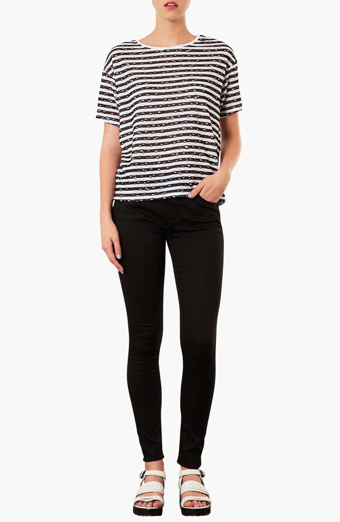 Alternate Image 2  - Topshop 'Leigh' Skinny Jeans