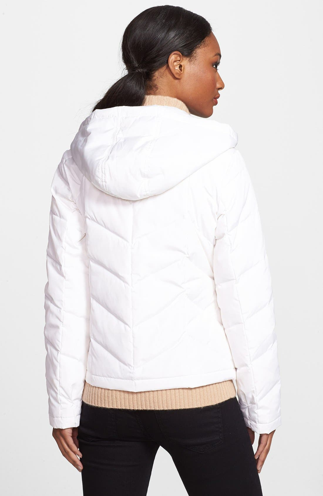 Alternate Image 2  - Halogen® Hooded Down Jacket