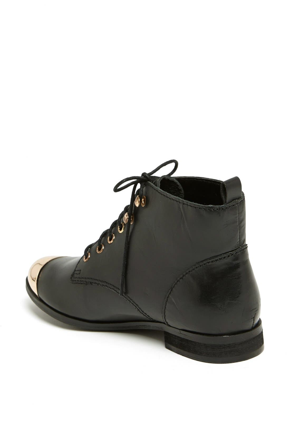 Alternate Image 2  - Topshop 'Mystify' Toe Cap Bootie