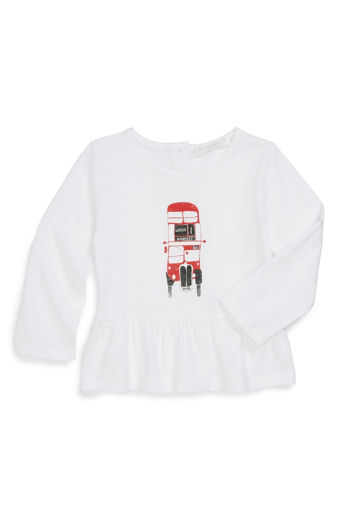Alternate Image 1 Selected - Burberry Graphic Tee (Toddler Girls)