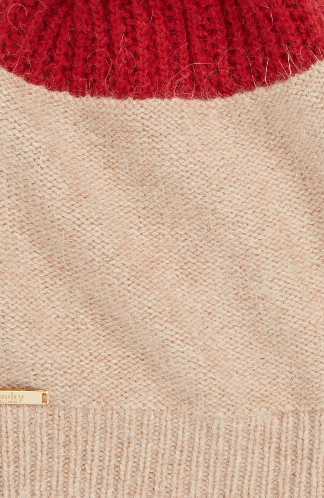 Alternate Image 2  - Laundry by Shelli Segal Colorblock Beanie