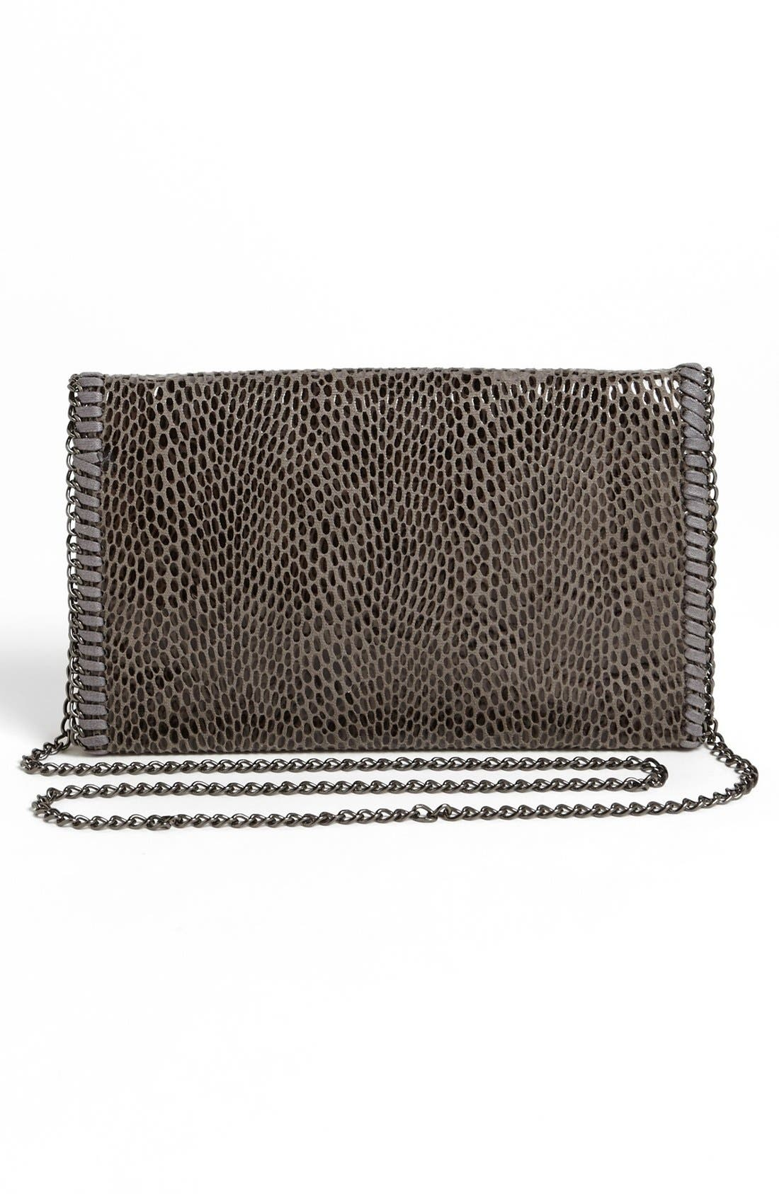 Alternate Image 4  - Tarnish Snake Chain Crossbody Clutch