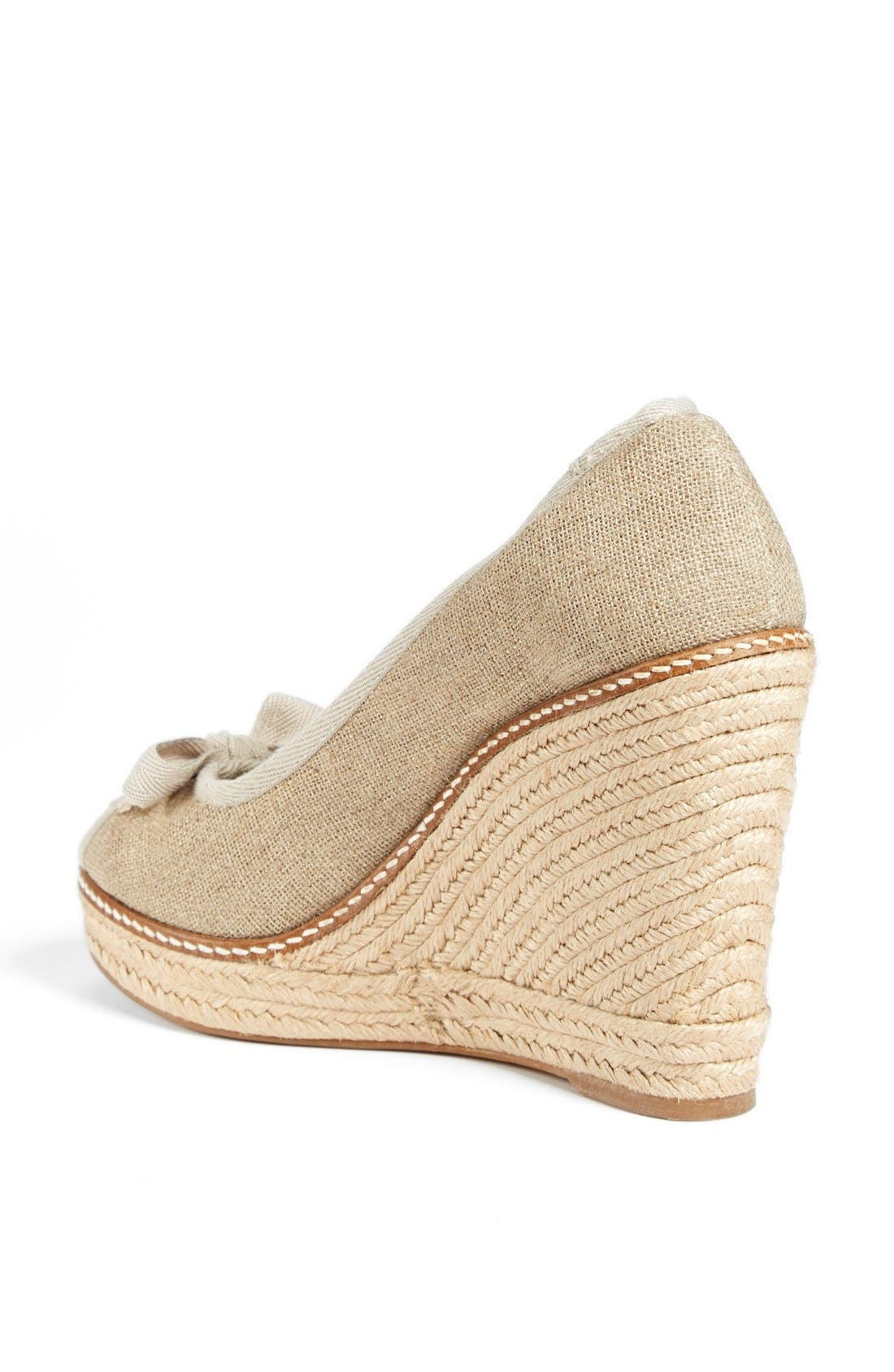 Alternate Image 2  - Tory Burch 'Jackie' Espadrille Wedge