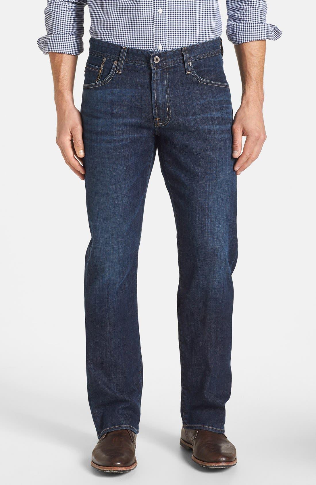 Alternate Image 1 Selected - AG 'Protégé' Straight Leg Jeans (Kearney)