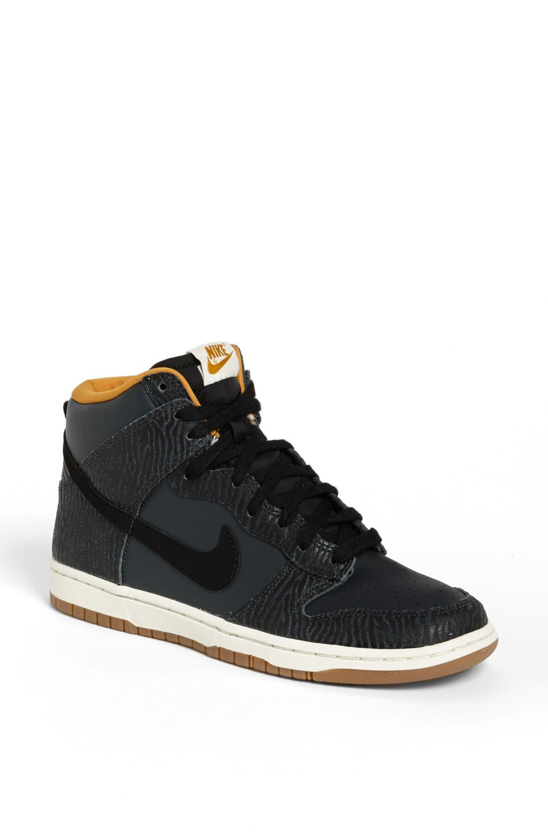 Main Image - Nike 'Dunk Hi - Skinny Print' High Top Basketball Sneaker
