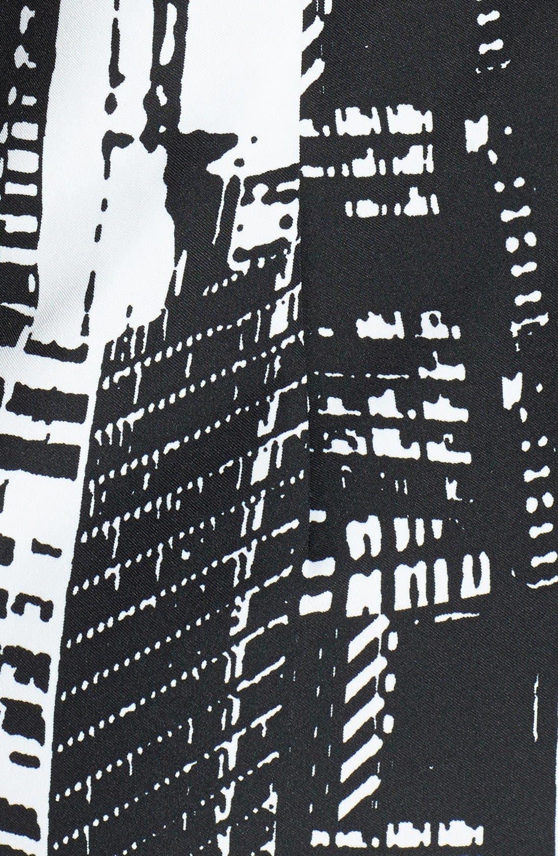 Alternate Image 3  - Tahari Print Sleeveless Shift Dress (Plus)